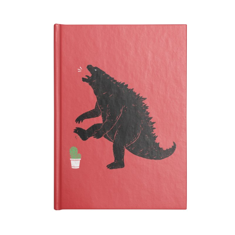 godzill-AWW Accessories Blank Journal Notebook by triagus's Artist Shop
