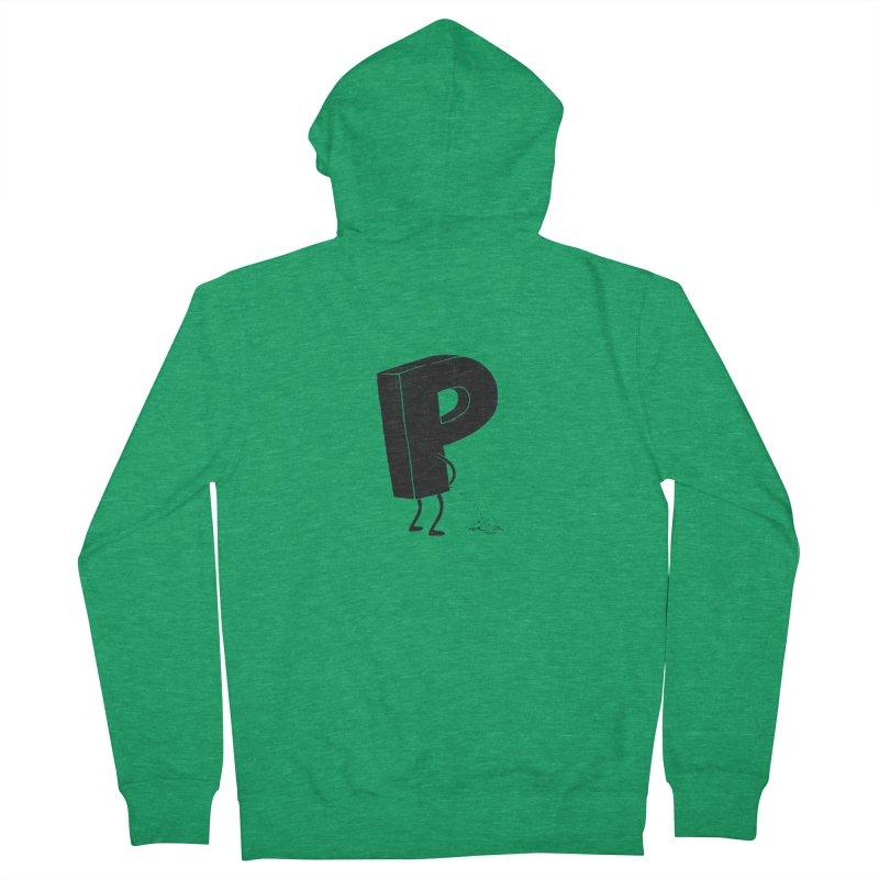P(ee) Men's Zip-Up Hoody by triagus's Artist Shop