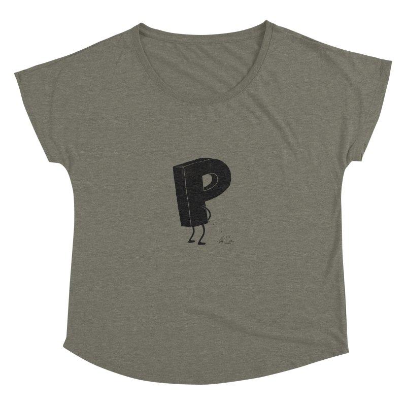 P(ee) Women's Dolman by triagus's Artist Shop