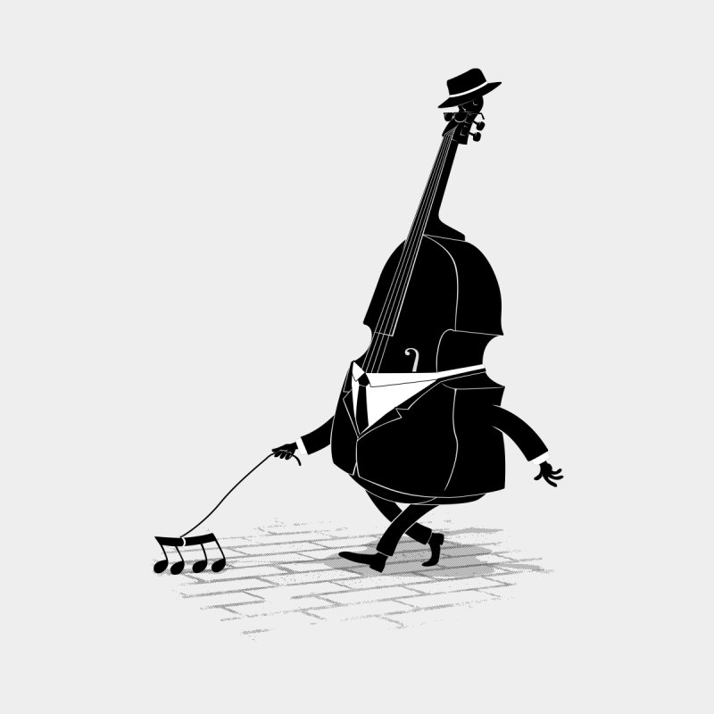 Walking Bass by triagus's Artist Shop
