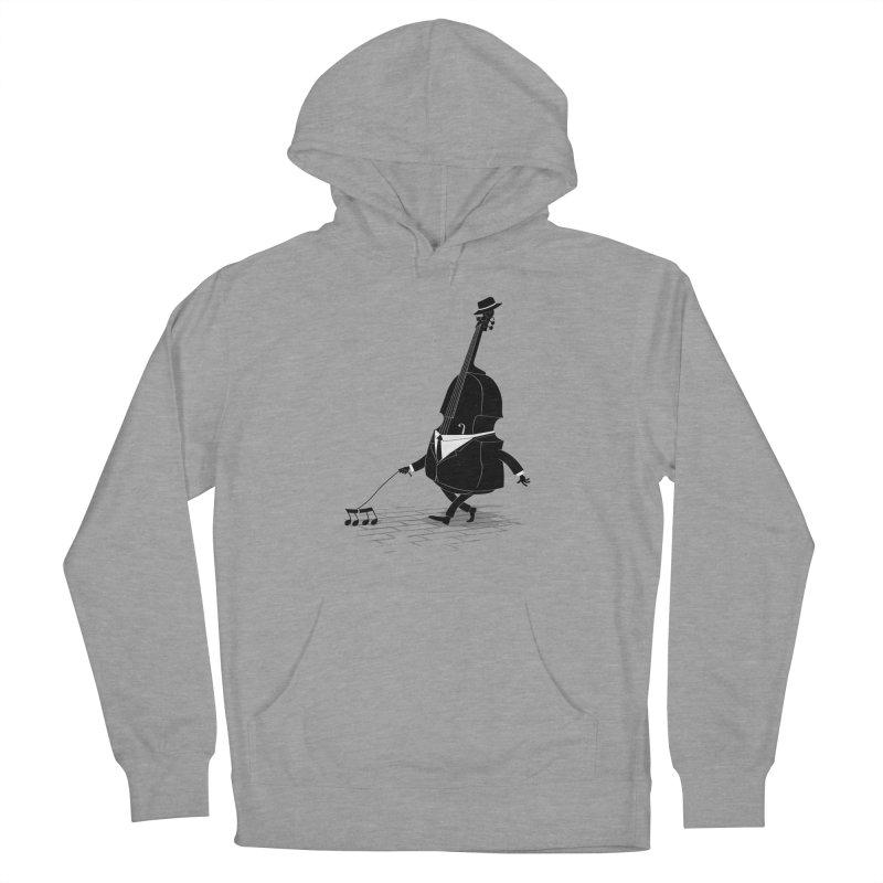 Walking Bass Men's Pullover Hoody by triagus's Artist Shop