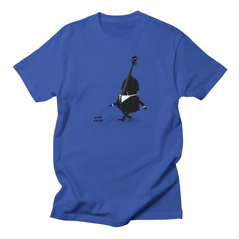 Walking Bass Women's Regular Unisex T-Shirt by triagus's Artist Shop