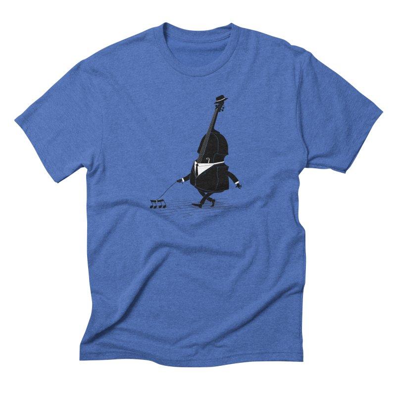 Walking Bass Men's Triblend T-shirt by triagus's Artist Shop
