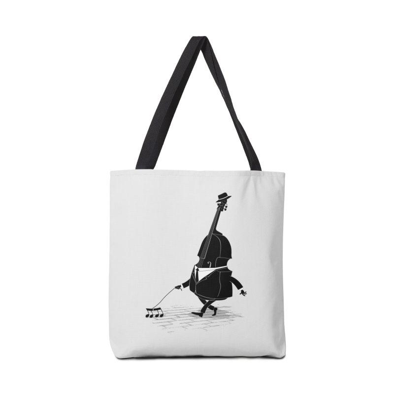Walking Bass Accessories Bag by triagus's Artist Shop