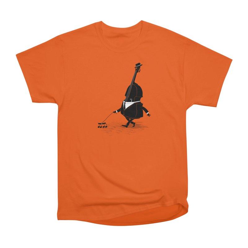 Walking Bass Men's T-Shirt by triagus's Artist Shop