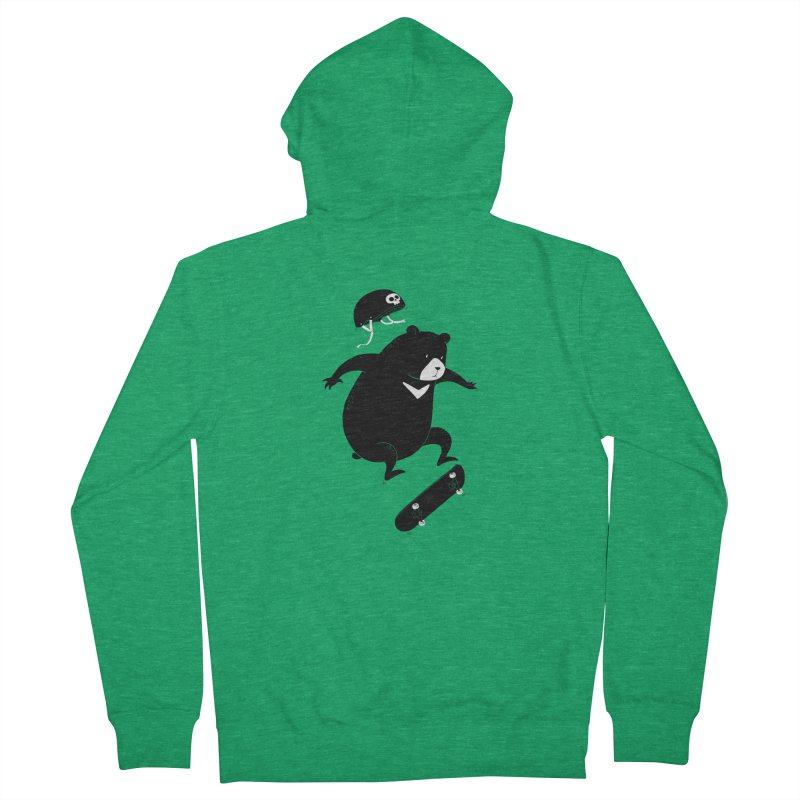 Extreme Bear Women's Zip-Up Hoody by triagus's Artist Shop