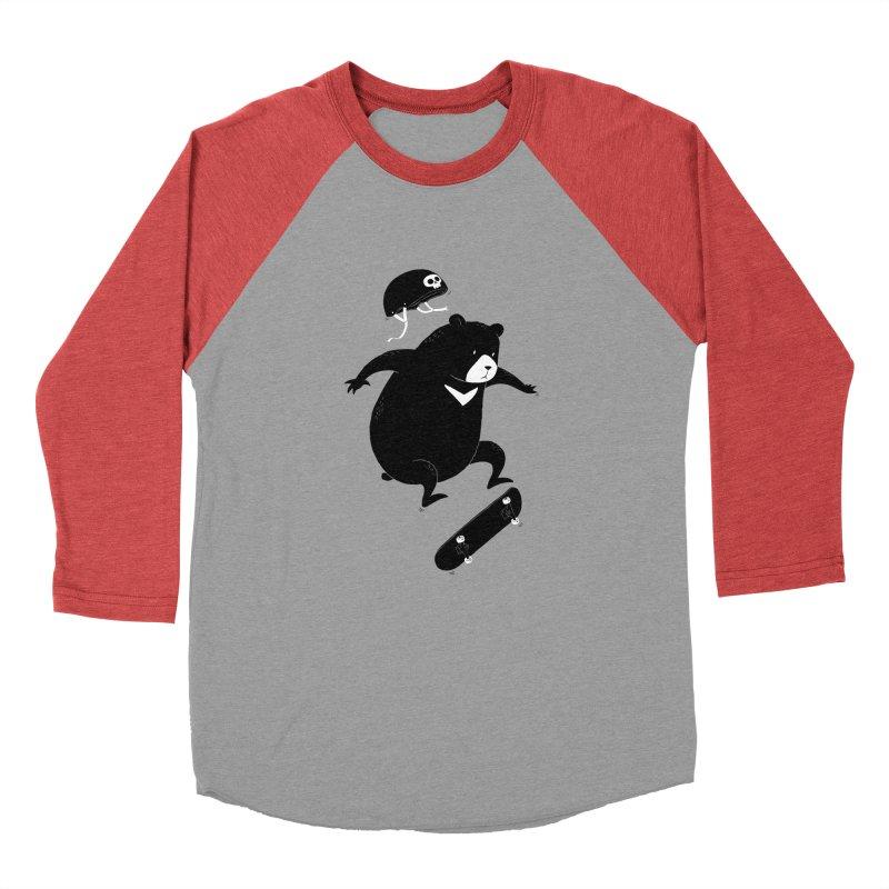 Extreme Bear Men's Baseball Triblend T-Shirt by triagus's Artist Shop