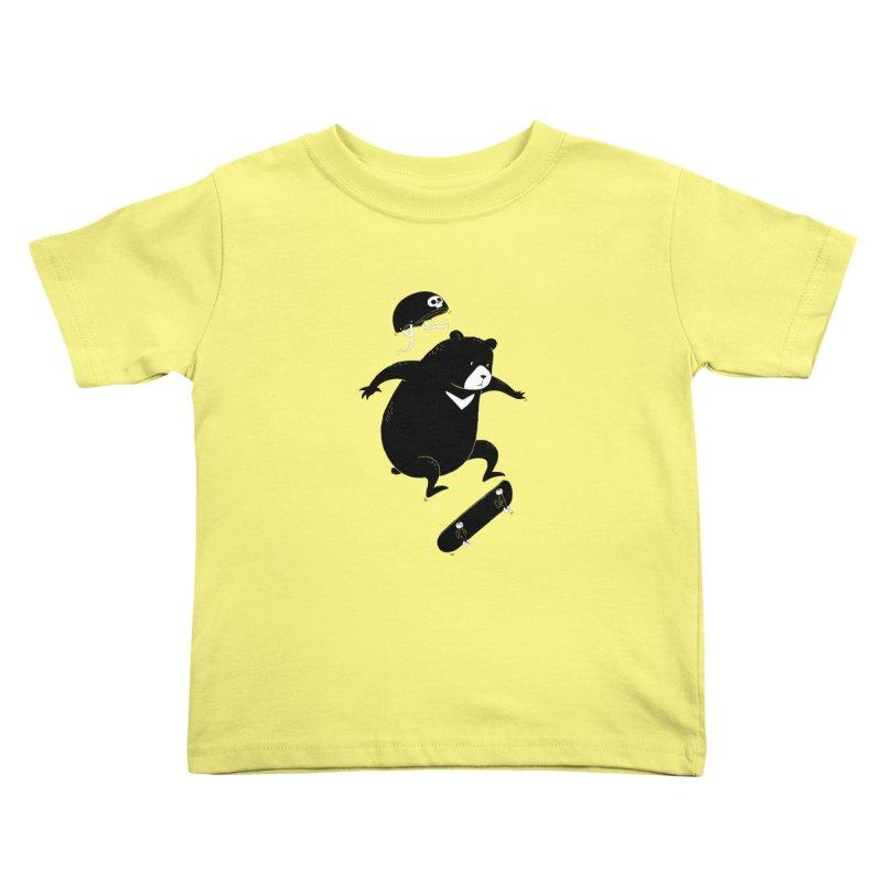 Extreme Bear Kids Toddler T-Shirt by triagus's Artist Shop