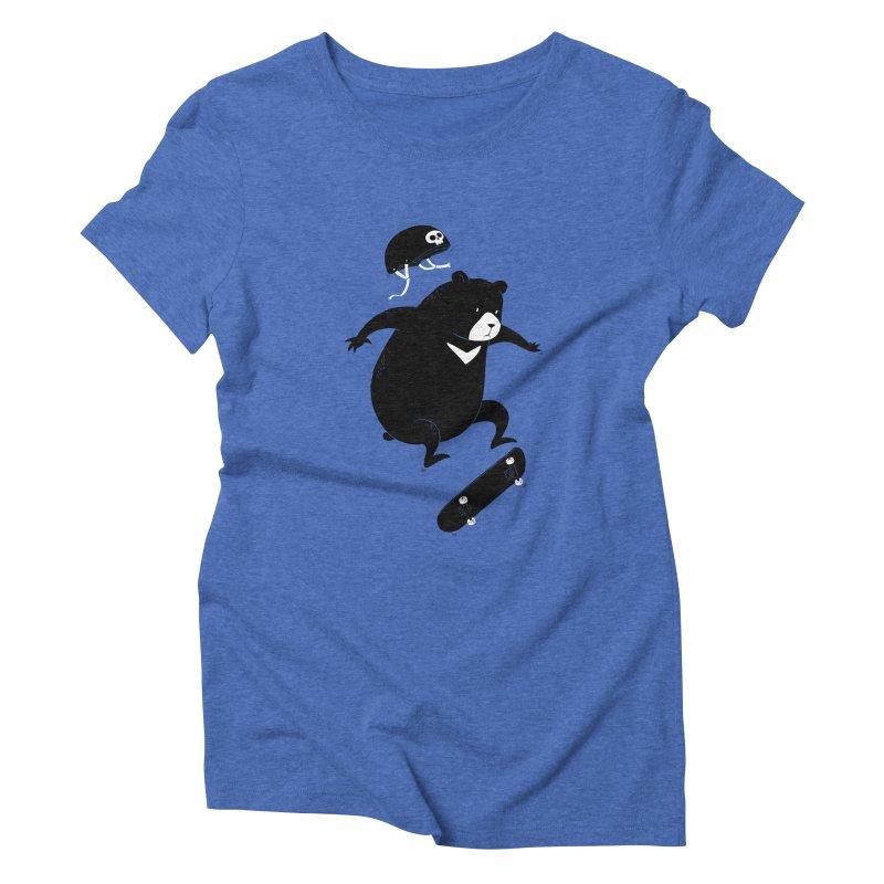 Extreme Bear Women's Triblend T-shirt by triagus's Artist Shop