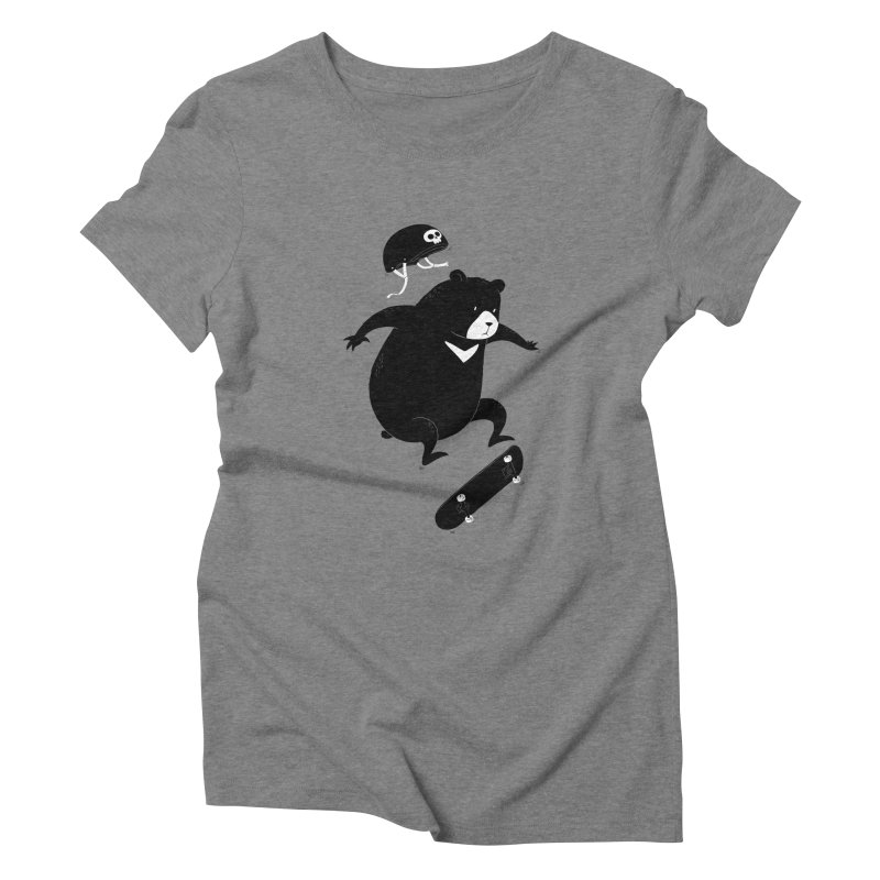 Extreme Bear Women's Triblend T-shirt by triagus's Artist Shop