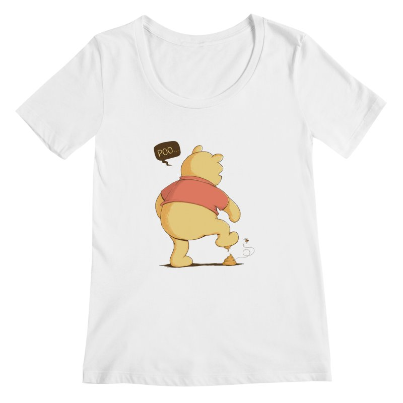 Bad Day Women's Scoopneck by triagus's Artist Shop