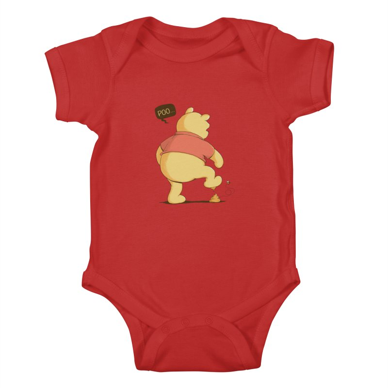 Bad Day Kids Baby Bodysuit by triagus's Artist Shop