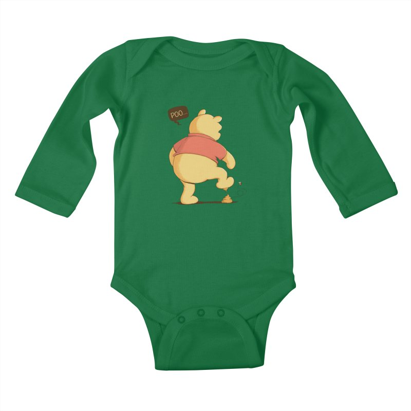 Bad Day Kids Baby Longsleeve Bodysuit by triagus's Artist Shop