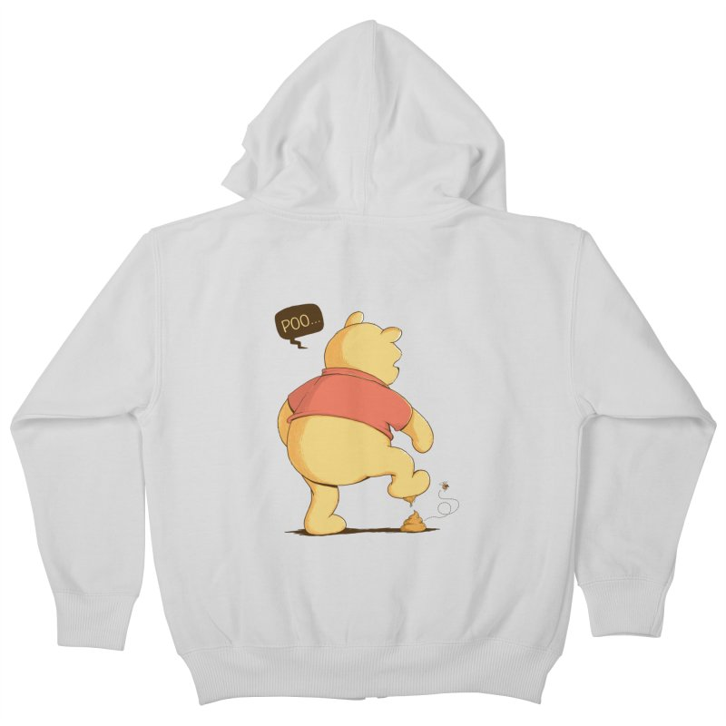 Bad Day Kids Zip-Up Hoody by triagus's Artist Shop