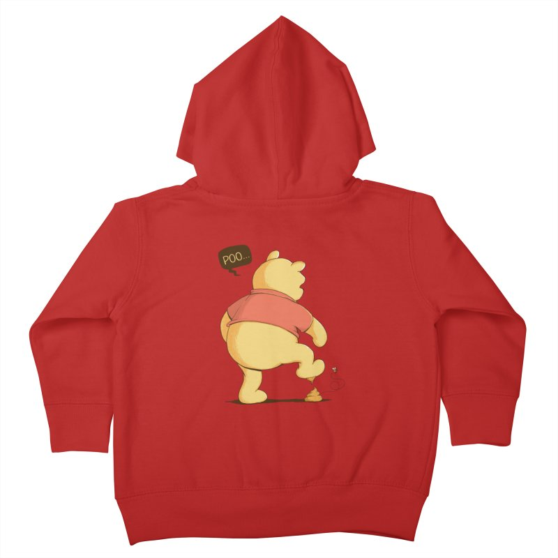 Bad Day Kids Toddler Zip-Up Hoody by triagus's Artist Shop