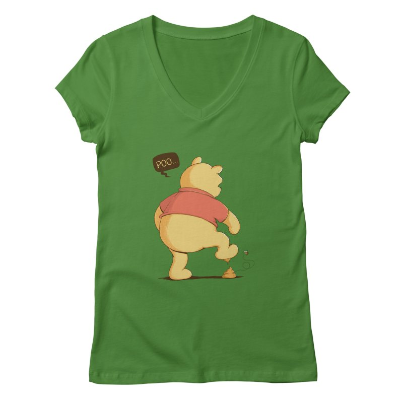Bad Day Women's V-Neck by triagus's Artist Shop