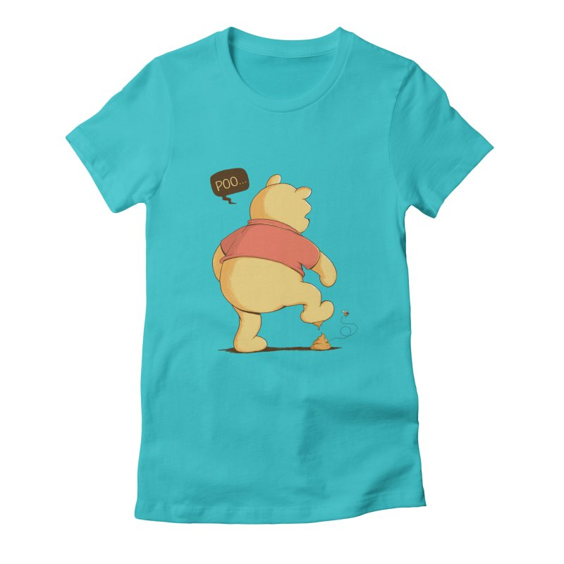 Bad Day Women's Fitted T-Shirt by triagus's Artist Shop