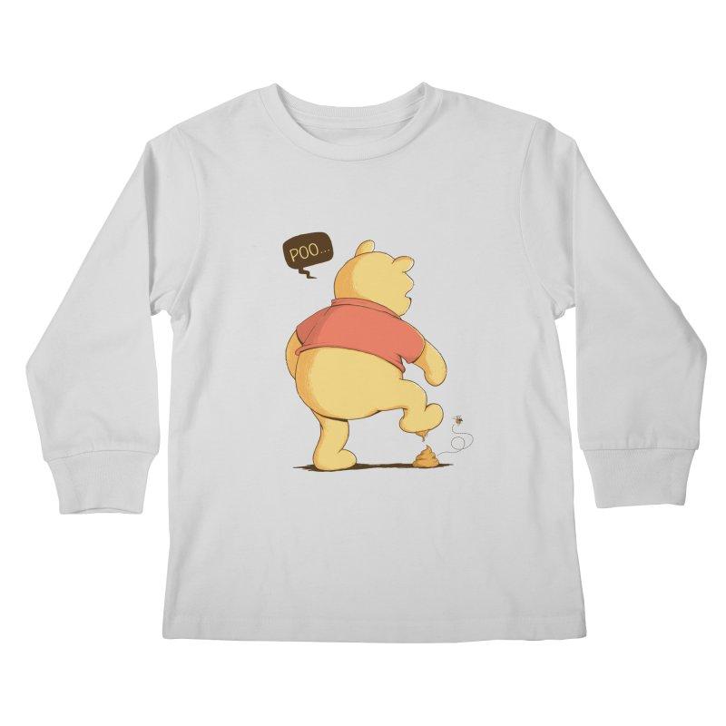 Bad Day Kids Longsleeve T-Shirt by triagus's Artist Shop
