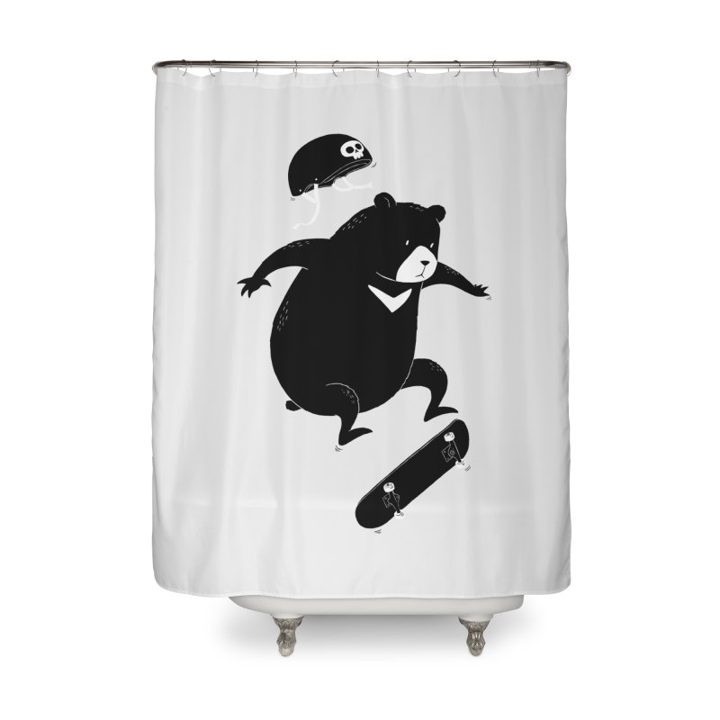 Extreme Bear Home Shower Curtain by triagus's Artist Shop
