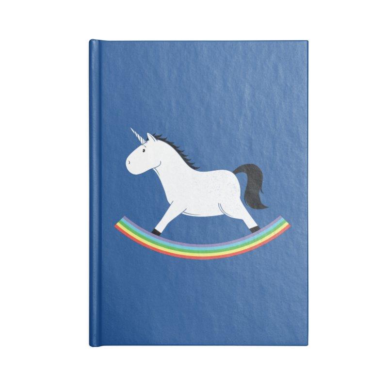 Rocking Unicorn Accessories Notebook by triagus's Artist Shop