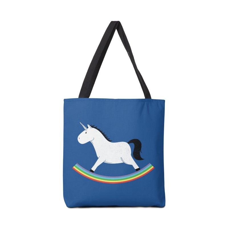 Rocking Unicorn Accessories Bag by triagus's Artist Shop