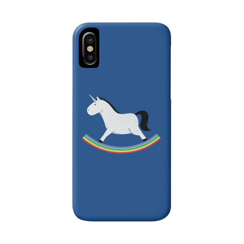 Rocking Unicorn Accessories Phone Case by triagus's Artist Shop