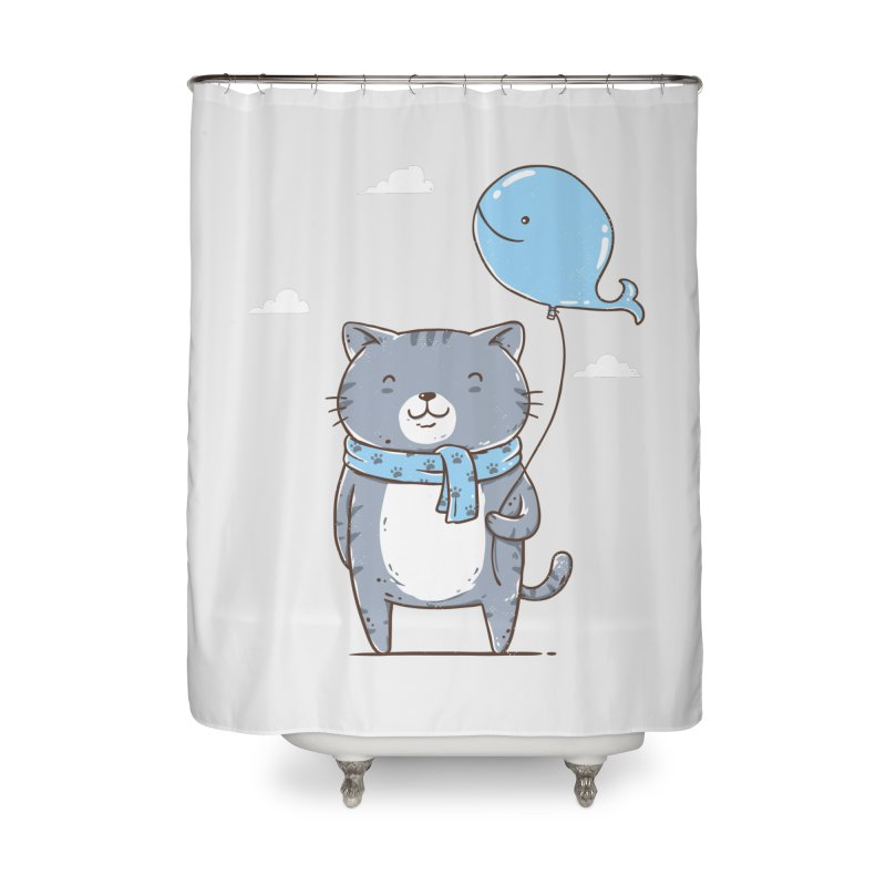 Big Fish Lover Home Shower Curtain by triagus's Artist Shop