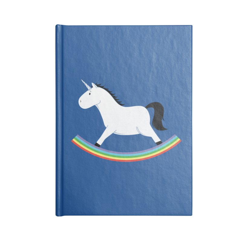 Rocking Unicorn Accessories Blank Journal Notebook by triagus's Artist Shop