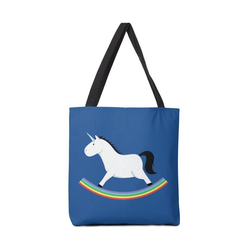 Rocking Unicorn Accessories Tote Bag Bag by triagus's Artist Shop