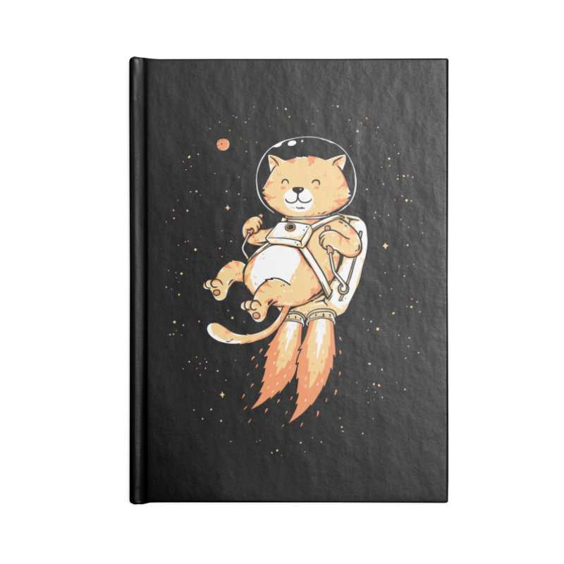 Space Adventurer Accessories Blank Journal Notebook by triagus's Artist Shop
