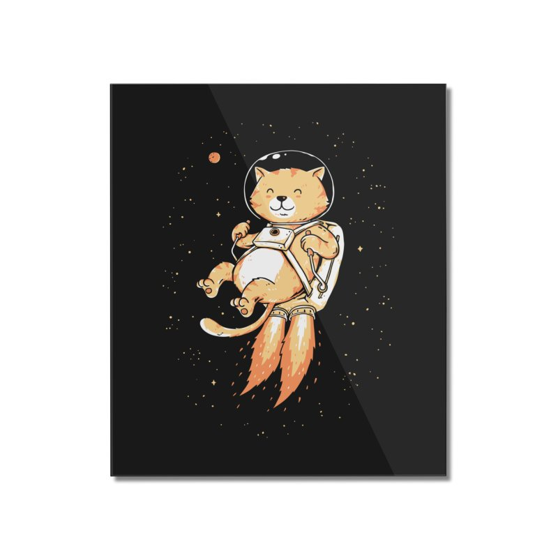 Space Adventurer Home Mounted Acrylic Print by triagus's Artist Shop