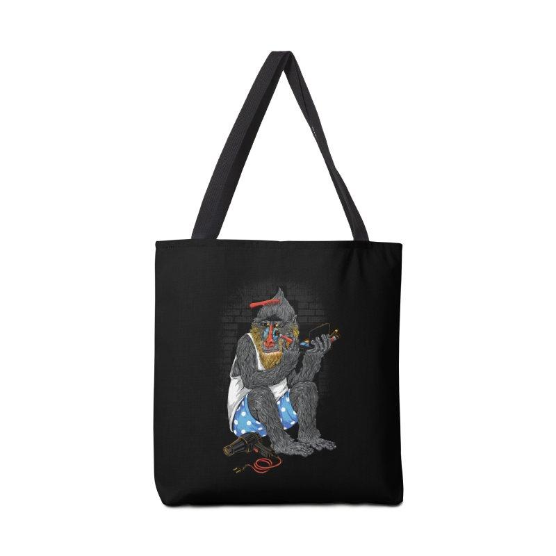 Salon Monkey Accessories Tote Bag Bag by triagus's Artist Shop