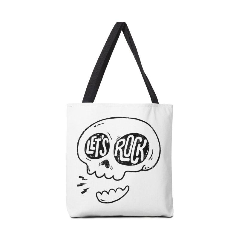 Let's Rock Accessories Tote Bag Bag by triagus's Artist Shop