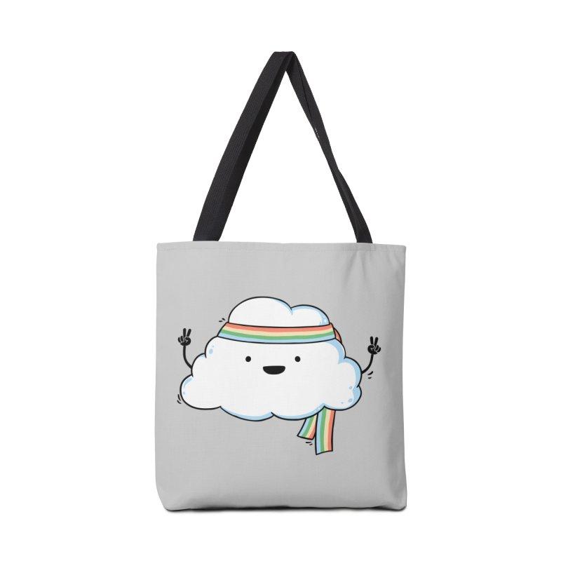 Hippie Cloud Accessories Tote Bag Bag by triagus's Artist Shop