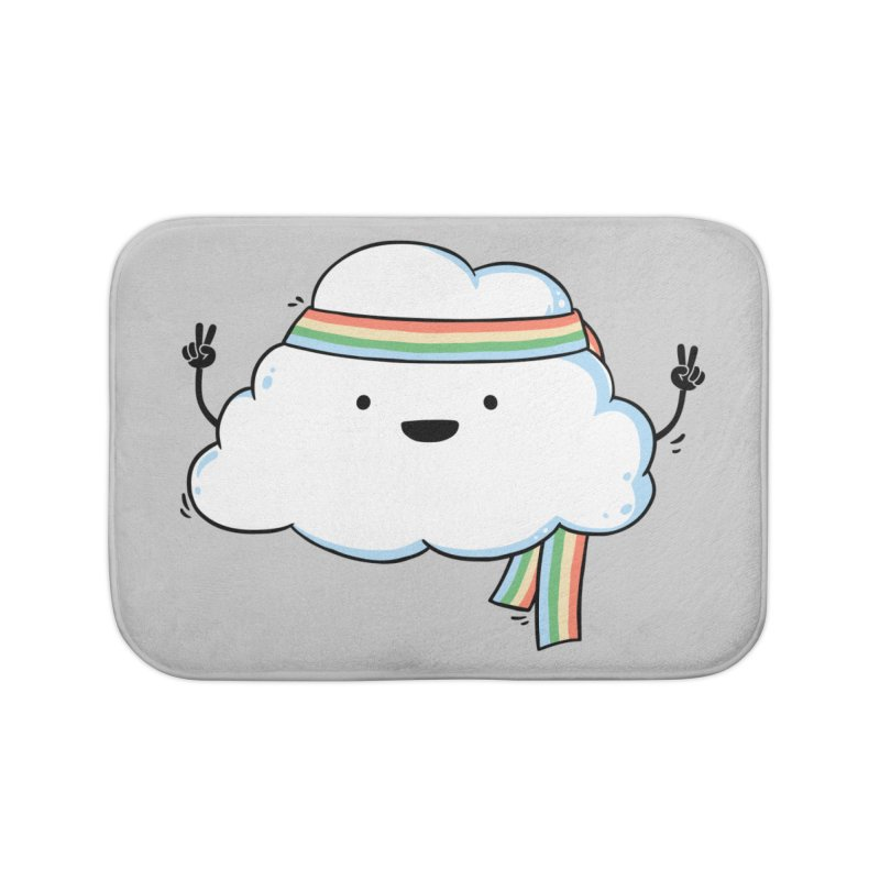 Hippie Cloud Home Bath Mat by triagus's Artist Shop