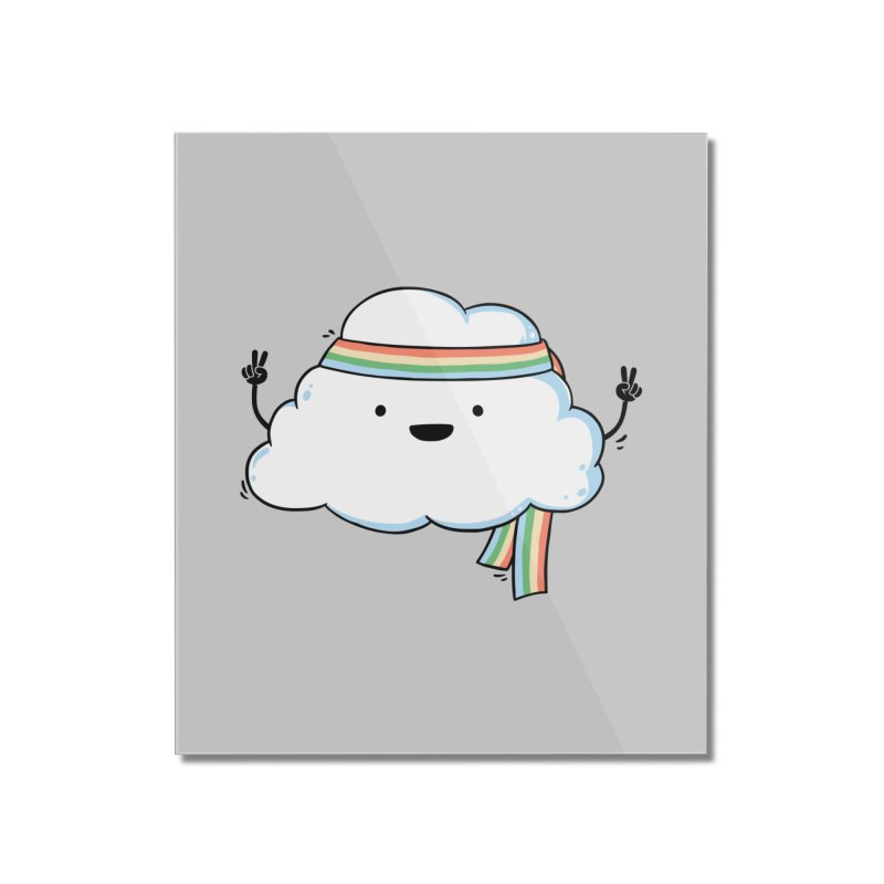 Hippie Cloud Home Mounted Acrylic Print by triagus's Artist Shop