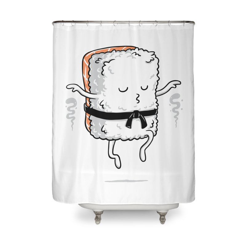 Master Sushi Home Shower Curtain by triagus's Artist Shop