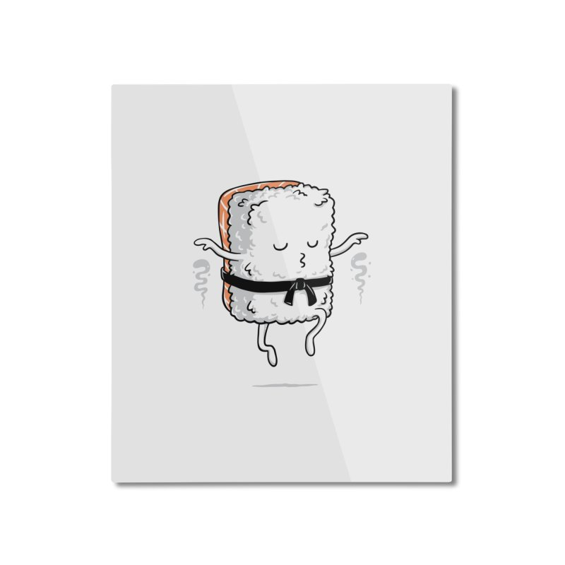 Master Sushi Home Mounted Aluminum Print by triagus's Artist Shop