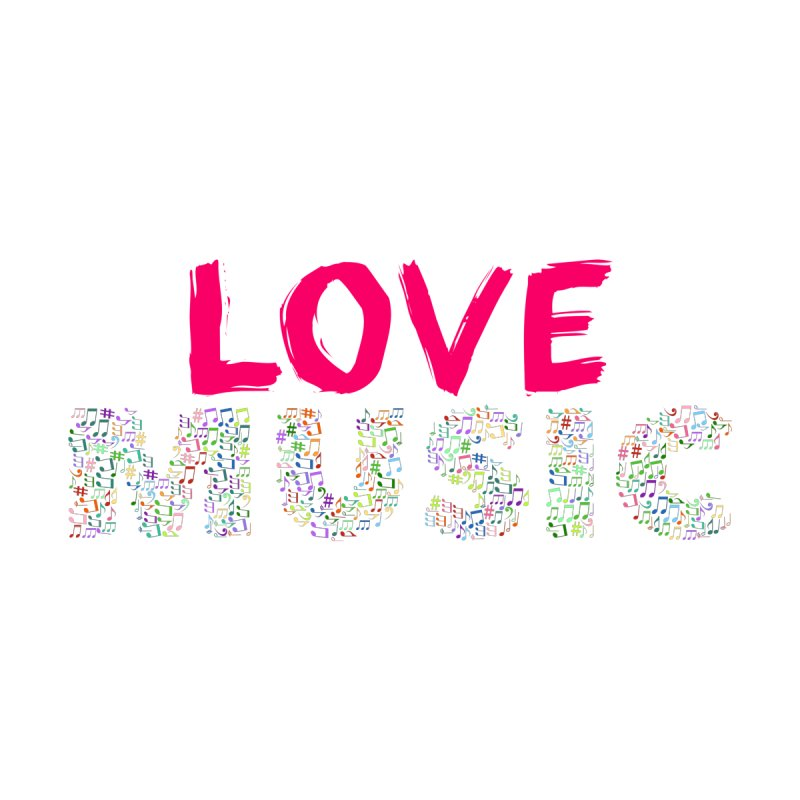 Love Music Colour Musical notes Home Blanket by Tribble Design - Unique graphics for unique produc