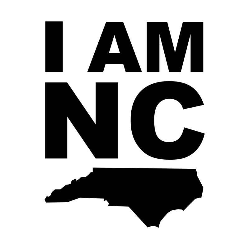 I AM NC 2 Men's T-shirt by Tribe of the Infinite