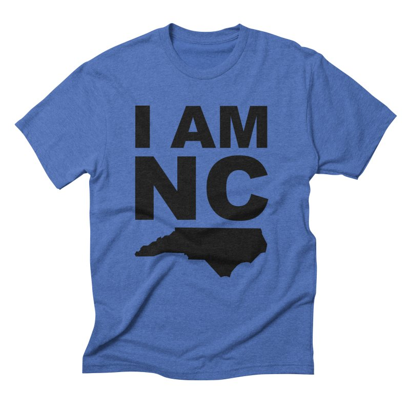 I AM NC 2 Men's Triblend T-Shirt by Tribe of the Infinite