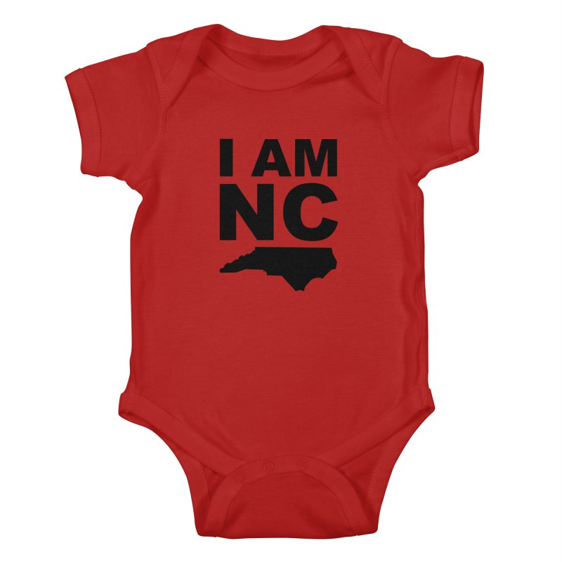 I AM NC 2 Kids Baby Bodysuit by Tribe of the Infinite