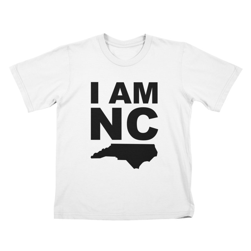 I AM NC 2 Kids T-shirt by Tribe of the Infinite