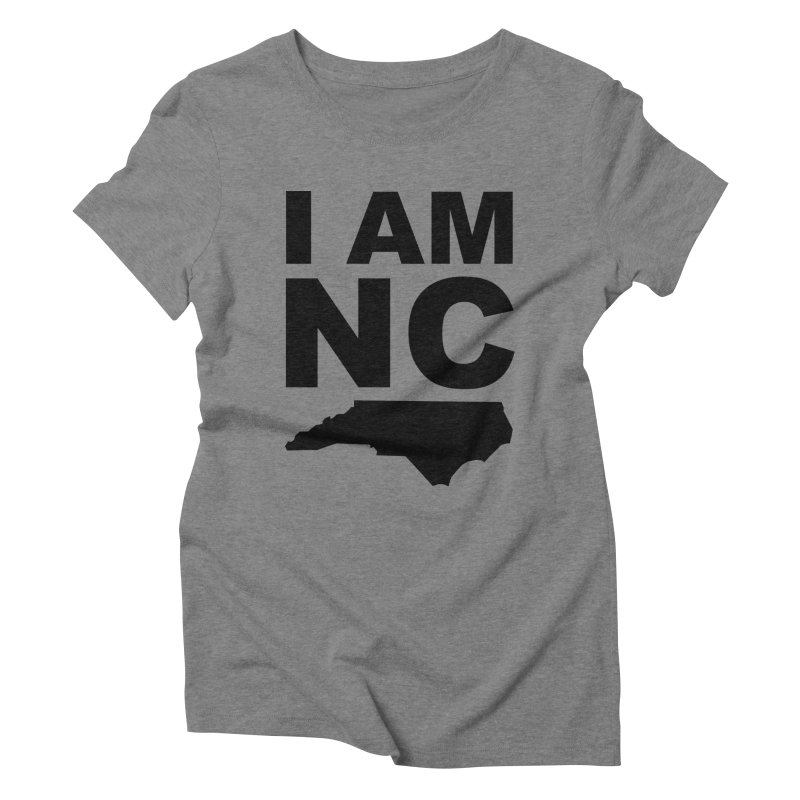 I AM NC 2 Women's Triblend T-shirt by Tribe of the Infinite