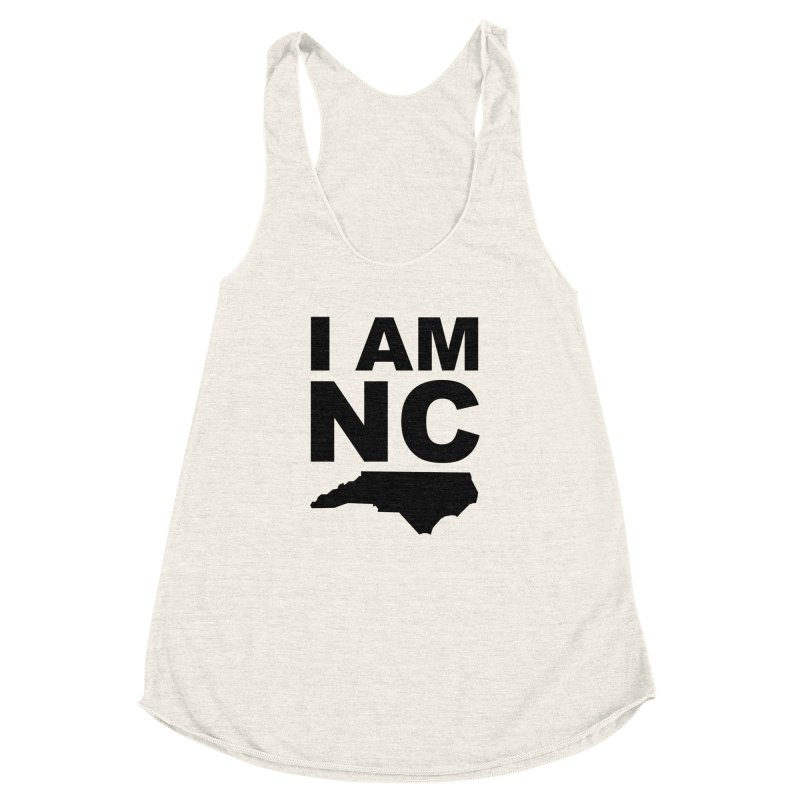 I AM NC 2 Women's Racerback Triblend Tank by Tribe of the Infinite