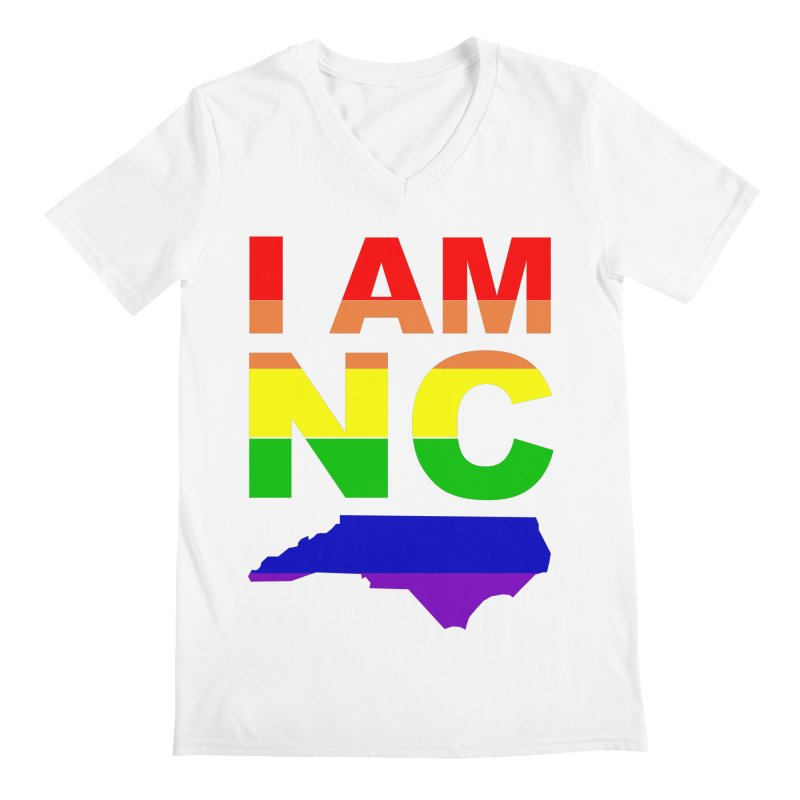 I AM NC Men's V-Neck by Tribe of the Infinite