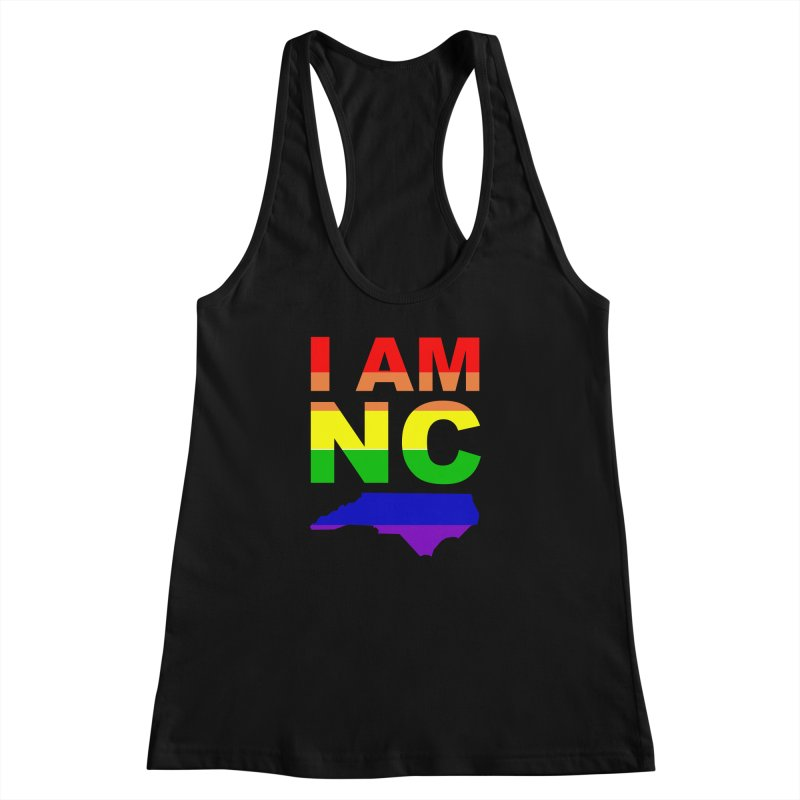 I AM NC Women's Racerback Tank by Tribe of the Infinite