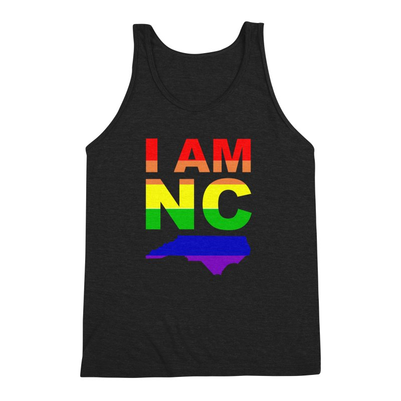 I AM NC Men's Triblend Tank by Tribe of the Infinite