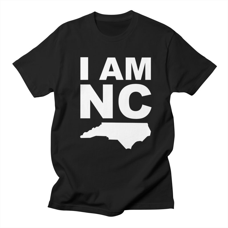 I AM NC Men's T-shirt by Tribe of the Infinite