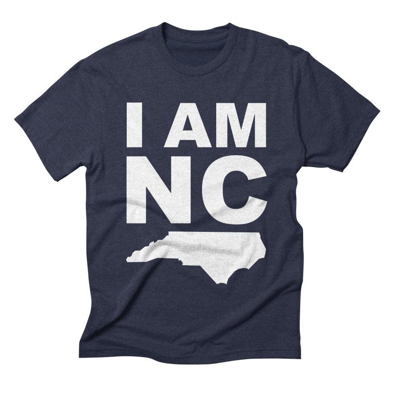 I AM NC Men's Triblend T-shirt by Tribe of the Infinite